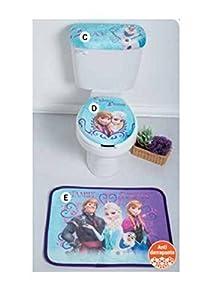 disney frozen bath accessories 3 set