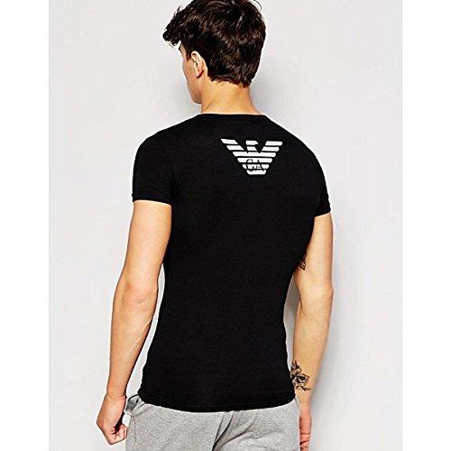 (エンポリオ アルマーニ) Emporio Armani メンズ トップス Tシャツ Emporio Armani Eagle Back Print T-Shirt 並行輸入品