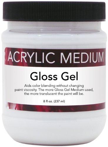 art-advantage-8-ounce-acrylic-gloss-gel-medium