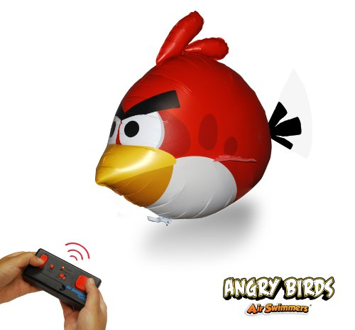 Angry Birds Air Swimmers Turbo - RED Flying Balloon control remoto de juguete