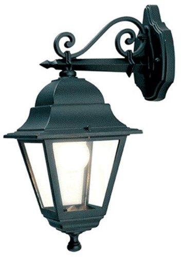 Lanterna da parete in alluminio pressofuso Lampada mod.Basso E27 28x42 H
