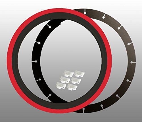 bianco-da-parete-anelli-4-pezzi-14-pollici-nero-rosso-tuv-certificato
