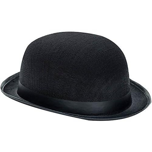 Kangaroo Black Derby Hat