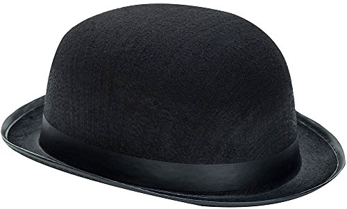 Kangaroo Black Derby Hat