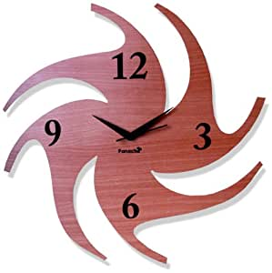 Basement Bazaar Basement Bazaar Chakari Wooden Wall Clock