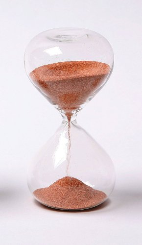 G.W. Schleidt STC10-R 4-Inch 5-Minute Glass Sand Timer with Rust Sand (Gw Schleidt Timer compare prices)