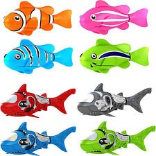 Robo Fish Water Activated Colors (Styles and Colors Vary) (Robot Fish compare prices)