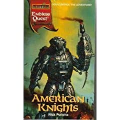 American Knights (Endless Quest) by Nick Pollotta