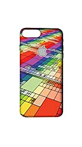 Abstract Designer Mobile Case/Cover For Apple iPhone 7 Plus With Logo