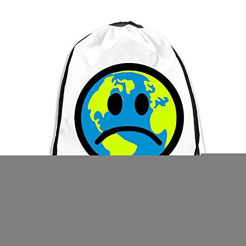 WLF Men's Women's Print Shoulder Drawstring Bag Port Bag Backpacks String Bags School Rucksack Gym Bag Skull And Motorcycle White. (Jansport Trolley Bags compare prices)