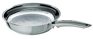 Fissler 12140028100 Crispy Pfannen Neu, steelux Premium, 28 cm