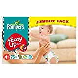 Pampers Easy Up Pants Size 4 (8-15kg) Maxi x 75 per pack