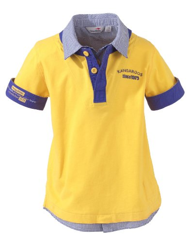 KangaROOS Kinder T-Shirt Santo, yellow gold, 140-146