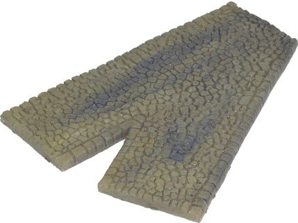 Terrain: Roads - V Section Sandstone Cobblestone (Finished)
