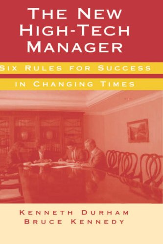 The New High-Tech Manager  Six Rules for Success in...