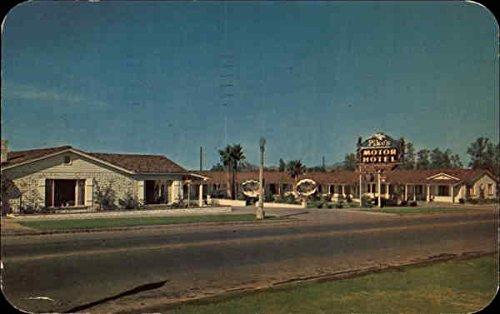 Pike'S Motor Hotel Yuma, Az Original Vintage Postcard