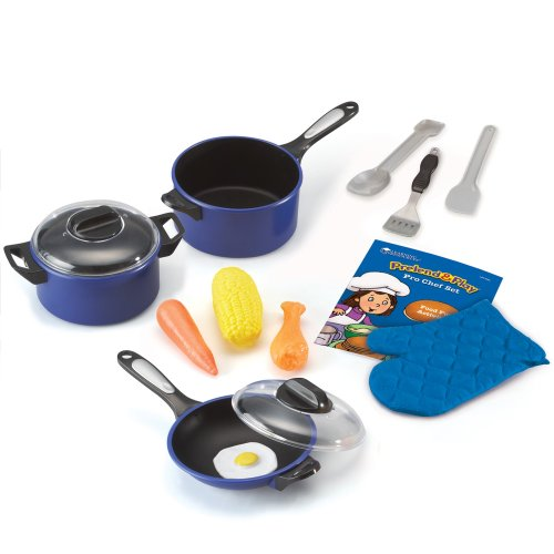 Learning Resources Pretend & Play Pro Chef Set (Large Pots And Pans compare prices)