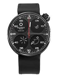 Meccaniche Veloci Men's W122K068373017 Automatic Titanium Black Dial Day-Date Watch