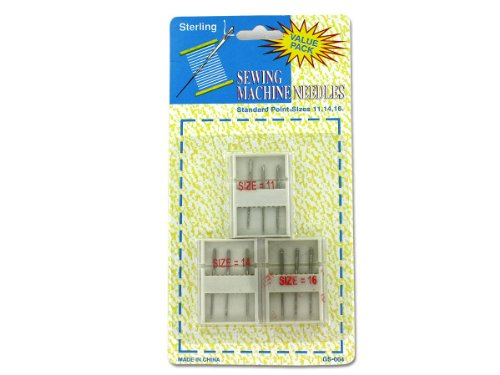 96 Packs Of Sewing Machine Needles With Cases