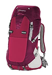Berghaus Freeflow Pro 40 Mens Rucksack - Extrem Red/Cranberry, 40Lt by Berghaus