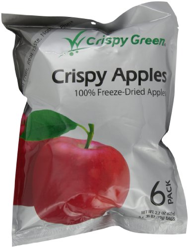 Crispy Green Fruit Snacks, Crispy Apples, 2.2-Ounce Pouches (Pack of 3)