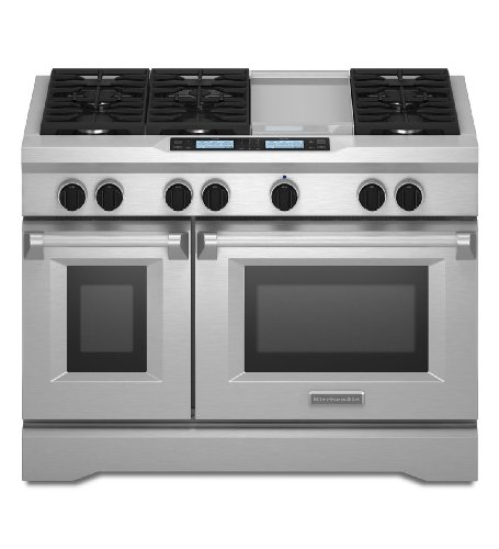 Kitchenaid KDRU783VSS Commercial-Style Dual Fuel Range