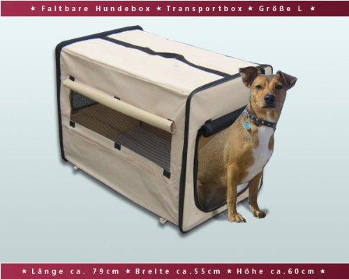 faltbare hundebox auto transportbox transporth tte. Black Bedroom Furniture Sets. Home Design Ideas