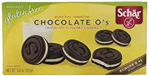 Schar Chocolate O's, 5.8-Ounce (Pack of 4)
