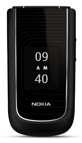 Nokia 3710 Unlocked Phone with 3.2 MP Camera and GPS–U.S. Version with Warranty (Black)