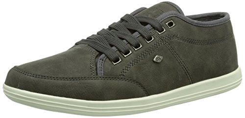 British Knights POKA LO, Low-Top Sneaker uomo, Grigio (Grau (DK Grey01)), 43 EU (9 Herren UK)