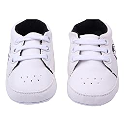 Voberry® Boys Baby Ride Sneaker Toddler Little Kids Boots for Winter (3-6 months, Black)