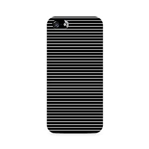 Mobicture Thin White Stripes Printed Phone Case for Apple iPhone 5/5s/SE
