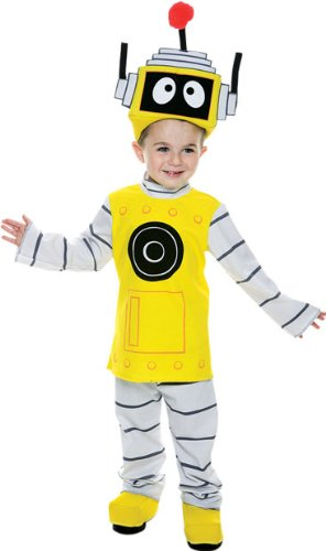Toddler Yo Gabba Gabba Robot Halloween Costume