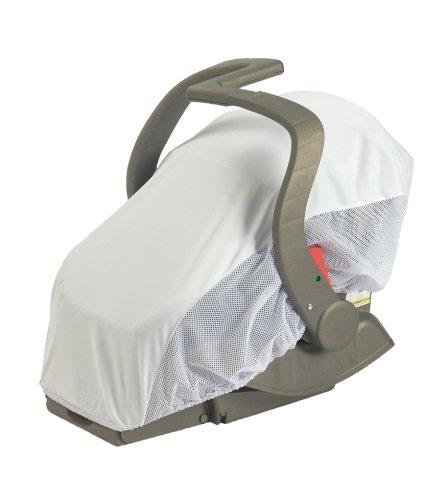 Sunshine Kids Sun Net Car Seat Cover White