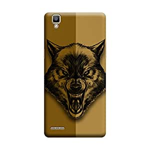 Oppo F1 Plus Angry Wolf Premium Designer Polycarbonate Hard Back Case Cover with full Protection