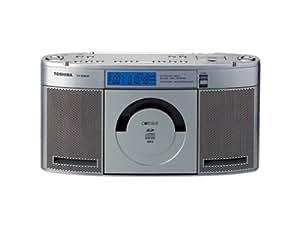 TOSHIBA SD/CDラジオ CUTEBEAT シルバー TY-SDX50(S)
