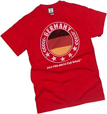 TEAM GERMANY Sqhere -- FIFA World Cup Brazil 2014 -- Adult T-Shirt, XX-Large