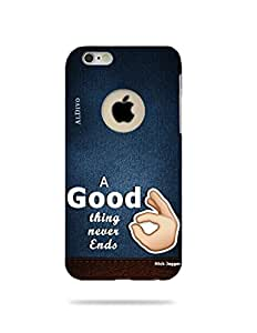 alDivo Premium Quality Printed Mobile Back Cover For Apple iPhone 6 (Logo Cut) / Apple iPhone 6 (Logo Cut) Printed Back Case Cover (MKD1058)