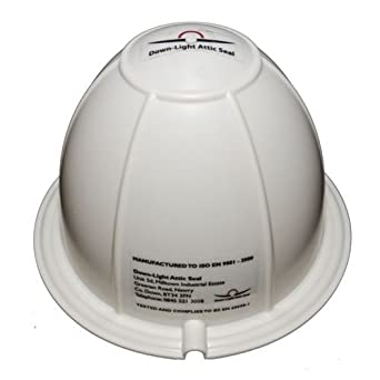 Downlight fire hood covers