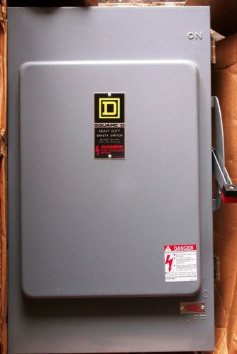 *NEW* Square D 200 Amp Safety Switch Cat# H364NAWK *NEW* $1400