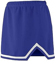 Augusta Girls Energy Skirt (Purple_White) (L)