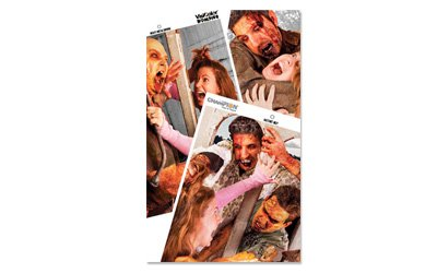 Champion Visicolor Zombie Hostage Target (Pack of 6, 12x18) (Archery Zombie Target compare prices)