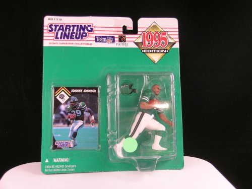 Starting Lineup 1995 Edition Johnny Johnson NFL New York Jets