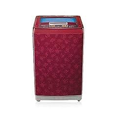 LG T10RRF21V1 Fully-automatic Top-loading Washing Machine (9 Kg,Dark Red)