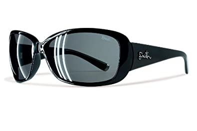 Smith Shoreline Sunglass (Black, Polarized Gray)