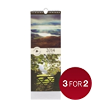 Landscape Photography Slim 2014 Calendar