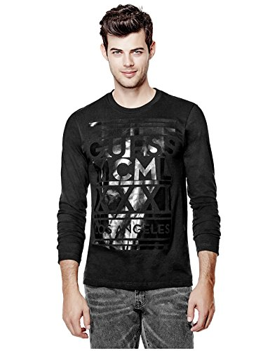 GUESS Mens Amstead Long-Sleeve Tee