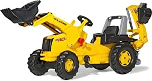 Delightful New Holland Construction Tractor w/ F Loader & Excavator --