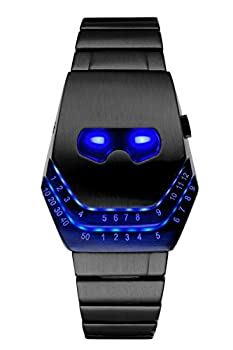 Soleasy Men's Peculiar COOL Gadgets interesting amazing Snake Head Design Blue LED Watches WTH8021 from Soleasy