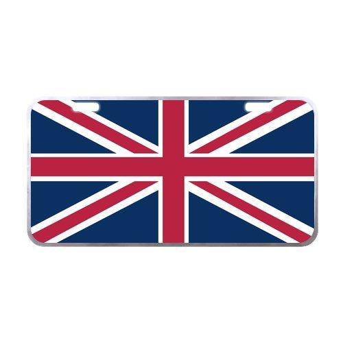 UK Flag United Kingdom - British Flag License Plate Tag (British Car Flag compare prices)